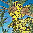Phryne the Python by kewzoo