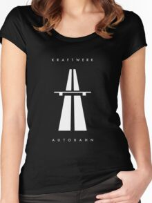 Autobahn Kraftwerk Inspired Women's Fitted Scoop T-Shirt