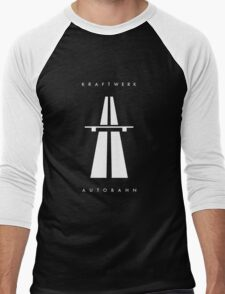 Autobahn Kraftwerk Inspired Men's Baseball ¾ T-Shirt