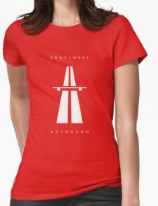 Autobahn Kraftwerk Inspired Womens Fitted T-Shirt