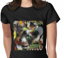 Feather Fusion Womens Fitted T-Shirt