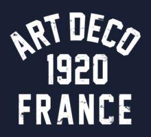 Art Deco One Piece - Short Sleeve