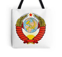 Soviet Coat of Arms Tote Bag