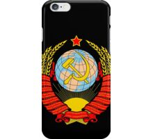 Soviet Coat of Arms iPhone Case/Skin