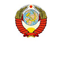Soviet Coat of Arms Photographic Print