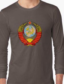Soviet Coat of Arms Long Sleeve T-Shirt