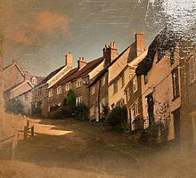 Gold Hill, Shaftesbury, Dorset by trish725