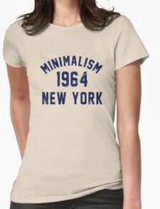Minimalism Womens Fitted T-Shirt