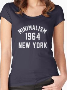 Minimalism Women's Fitted Scoop T-Shirt