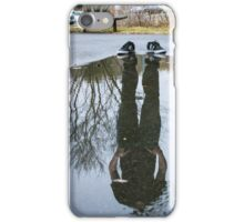 Lost in reflections iPhone Case/Skin