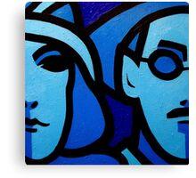 Nora Barnacle and James Joyce Canvas Print