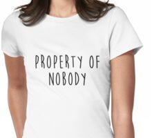Property of Nobody Womens Fitted T-Shirt
