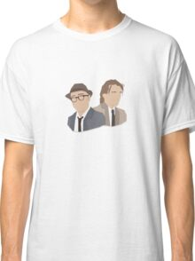 'Bottom' / 'Rik Mayall' Vector Artwork Classic T-Shirt