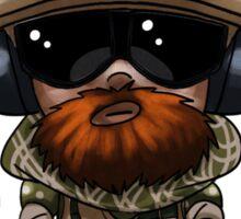 Blackbeard Chibi Sticker