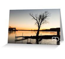 Saratoga Lake Greeting Card