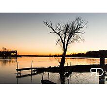 Saratoga Lake Photographic Print
