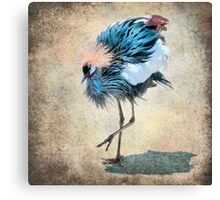 The Dancing Crane Canvas Print
