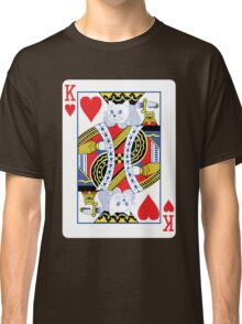 Kitty King of Hearts Classic T-Shirt