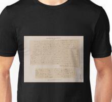 0157 Demotische Inschriften No 10 12 Philae Aeussere Westseite des Tempels G Unisex T-Shirt