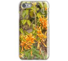 Golden floers iPhone Case/Skin