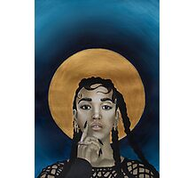 FKA Twigs - Godly Golden Halo Photographic Print