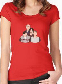 'Derek' / 'Ricky Gervais' / 'Karl Pilkington' Vector Artwork Women's Fitted Scoop T-Shirt