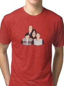 'Derek' / 'Ricky Gervais' / 'Karl Pilkington' Vector Artwork Tri-blend T-Shirt
