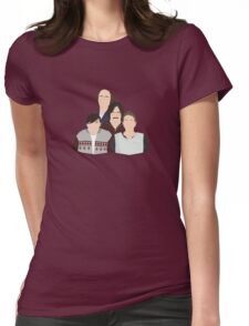 'Derek' / 'Ricky Gervais' / 'Karl Pilkington' Vector Artwork Womens Fitted T-Shirt