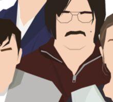 'Derek' / 'Ricky Gervais' / 'Karl Pilkington' Vector Artwork Sticker