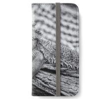 Thorny lizard Australia iPhone Wallet/Case/Skin