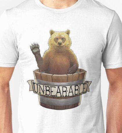 UnBEARable Bear in a bucket Unisex T-Shirt