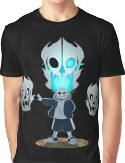 Undertale - Sans and Gasterblaster Graphic T-Shirt