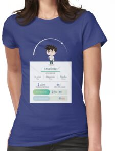 STUDENT Womens Fitted T-Shirt