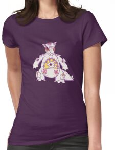 Kangaskhan Pokemuerto | Pokemon & Day of The Dead Mashup Womens Fitted T-Shirt