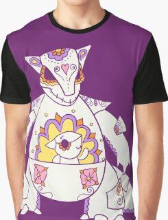 Kangaskhan Pokemuerto | Pokemon & Day of The Dead Mashup Graphic T-Shirt