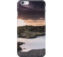 Sunset Near the Blue Lagoon iPhone Case/Skin