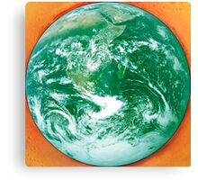Green Earth protected Canvas Print