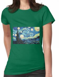Screaming night Womens Fitted T-Shirt