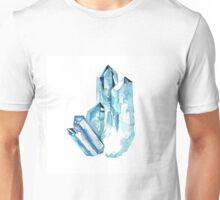 Aqua Aura Quartz Crystal  Unisex T-Shirt