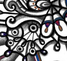 ABSTRACT - Design 015 (Color) Sticker