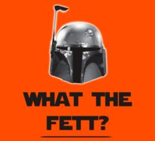 What The Fett? - B/W Kids Clothes