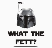 What The Fett? - B/W by Heidi Cox