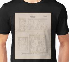 0648 Ptolemaeer Ptol XIII NeosDionysos Edfu Idfû Grosser Tempel Westlicher Pylon a Vorderseite b Hinterseite Unisex T-Shirt