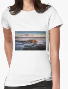 Town Bay Porthcawl Womens Fitted T-Shirt