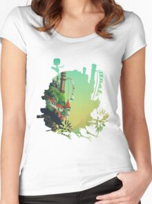 Howl's Moving Castle 1 Women's Fitted Scoop T-Shirt
