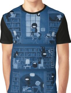 Silence in the Library Graphic T-Shirt