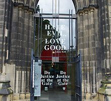 'Do Justice At The Gate' by Francis Drake