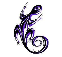 Gecko Shadow Photographic Print