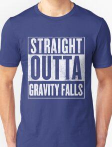 straight outta gravity falls Unisex T-Shirt