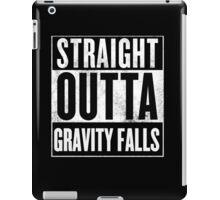 straight outta gravity falls iPad Case/Skin